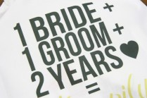 2nd Anniversary Gift Cotton Anniversary Gift For Husband Wife 2