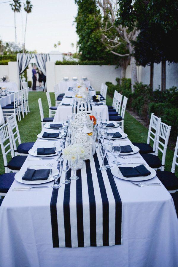 Nautical Wedding Table Decor