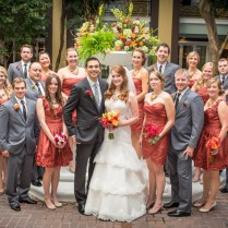 A Gorgeous Wedding With A Fall Color Palatte