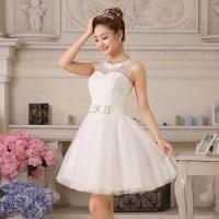 Cute Puffy Wedding Dress
