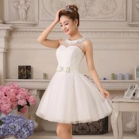 Cute Puffy Wedding Dress