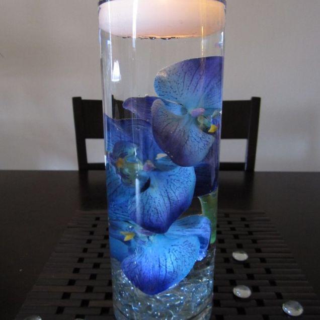 Amazing Of Blue Wedding Centerpieces Wedding Blue Wedding