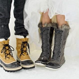 Best Winter Wedding Boots Photos 2016 – Blue Maize