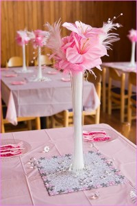 Wedding Shower Table Decorations