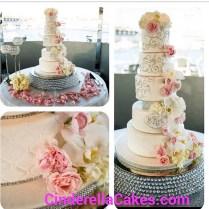Cinderella Cakes, Wedding Cake, California