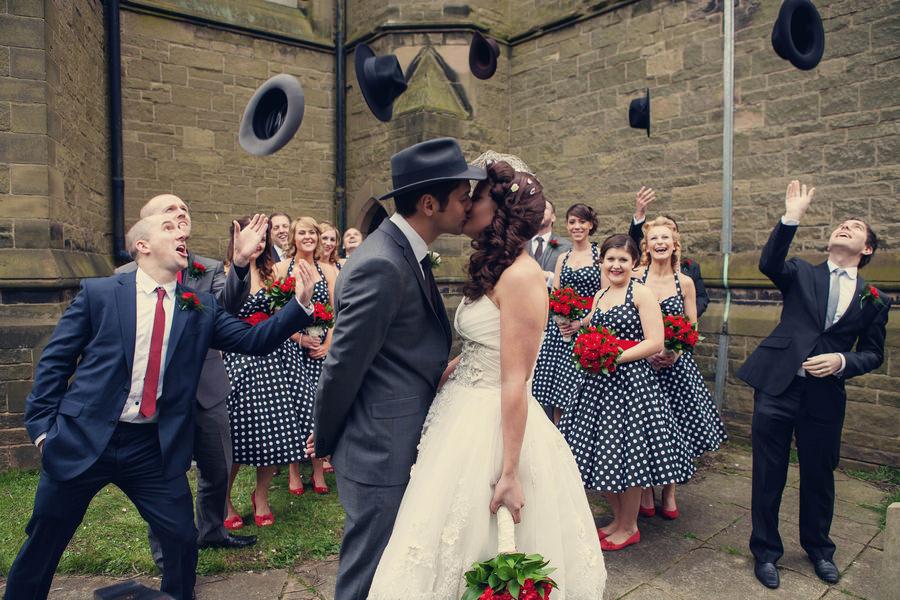 Fifties Themed Wedding