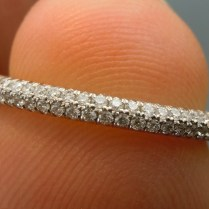 Collection Pave Wedding Bands Pictures
