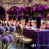 Collection Purple And Gold Wedding Decor Pictures