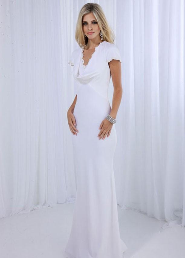 Second Wedding Dress For Older Brides