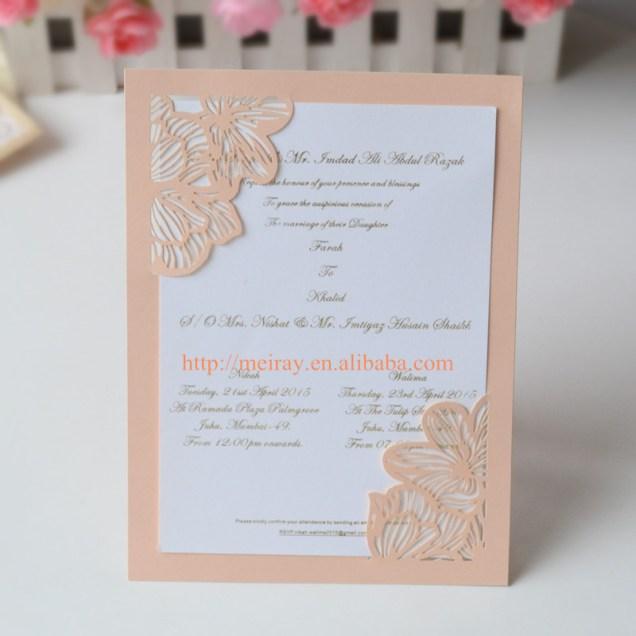 Compare Prices On Peach Wedding Invitations