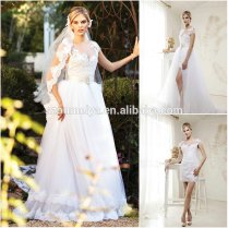 Compare Prices On Short Wedding Dress With Removable Skirt