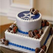 Dallas Cowboys Wedding Cake