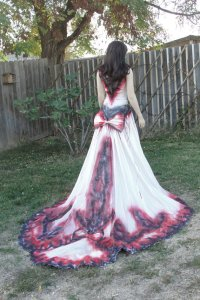 Day Of The Dead Wedding Dress