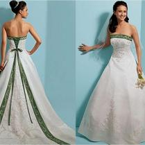 Emerald Green Wedding Dress Ocodea Emerald Green Mermaid
