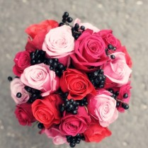 Everything About Fuchsia & Black Themed Weddings