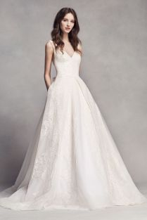 Extra Length Lace White By Vera Wang V