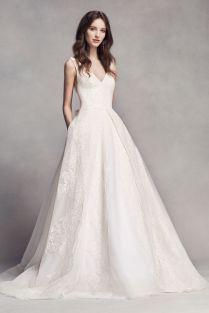 Extra Length Lace White By Vera Wang V