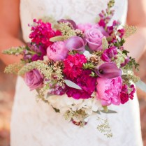 Fuchsia Wedding Flowers