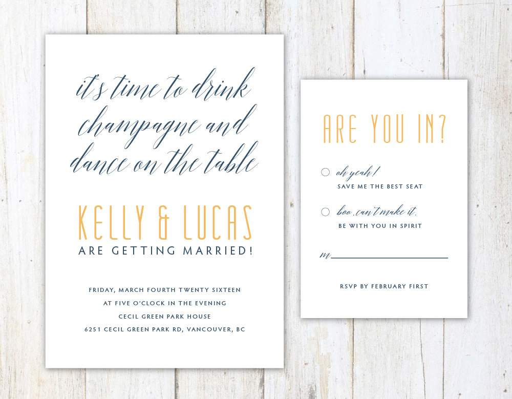 Funny Wedding Invitation Wording: Funny Wedding Invite Wording