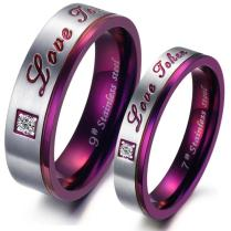 Images Of Purple Wedding Ring