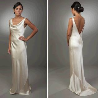 Images Of Silk Wedding Dress