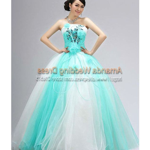 Images Of Teal Dress For Wedding
