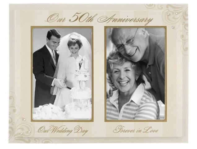 Incredible Golden Wedding Gift Ideas Creative 50th Golden Wedding