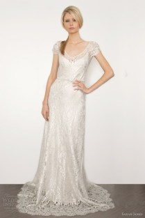 Loose Fitted Wedding Dress