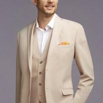 Mens Tan Wedding Suits