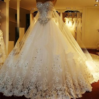 Online Buy Wholesale Sparkly Princess Wedding Dress From China
