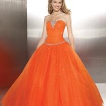 Orange Dresses For Wedding