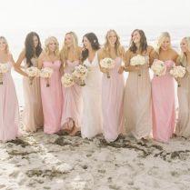 Pink And Nude Bridesmaid Dresses – Emasscraft Org Weddings