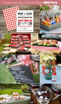 Plan A Hip And Modern Rehearsal Dinner Bbq!