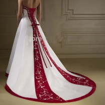 Popular Burgundy Wedding Dresses