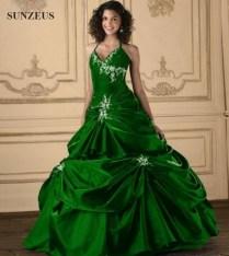Popular Emerald Green Wedding Dresses