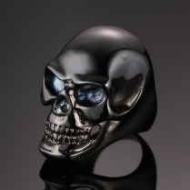 Popular Mens Skull Wedding Bands