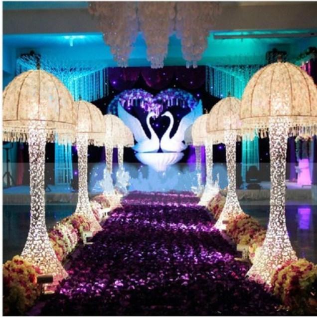 Popular Purple Themed Wedding