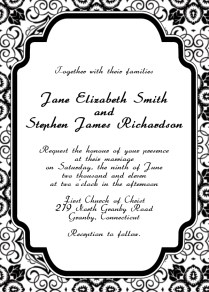 Printable Wedding Invitations Templates 1000 Images About Wedding