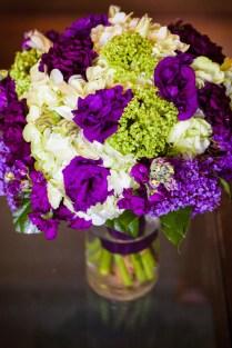 Purple Bow Tie Wedding