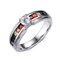 Rainbow Wedding Ring Photo Album