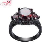 Red And Black Engagement Rings Photo Album