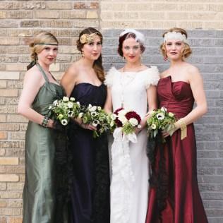 Roaring 20s Themed Wedding