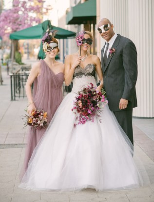 Romantic Mardi Gras Wedding Inspiration