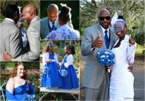 Royal Blue Wedding Bridal Party