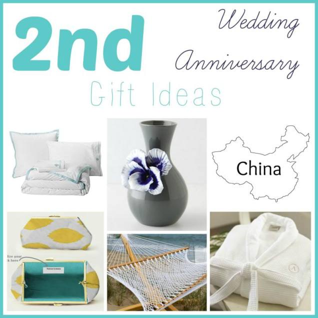 Second Marriage Anniversary Gift Ideas 2nd Wedding Anniversary