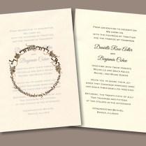 Song Of Solomon Jewish Wedding Invitation