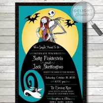 Spooktacular Halloween Wedding Invitations