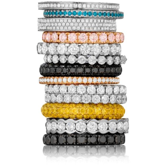 Stackable Wedding Bands For Women
