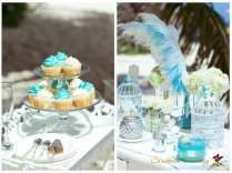 Tiffany Style Wedding In The Dominican Republic {alex Olesya