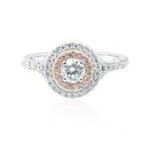 Uncategorized Cushion Diamond Double Halo Wedding Rings Suchastyle